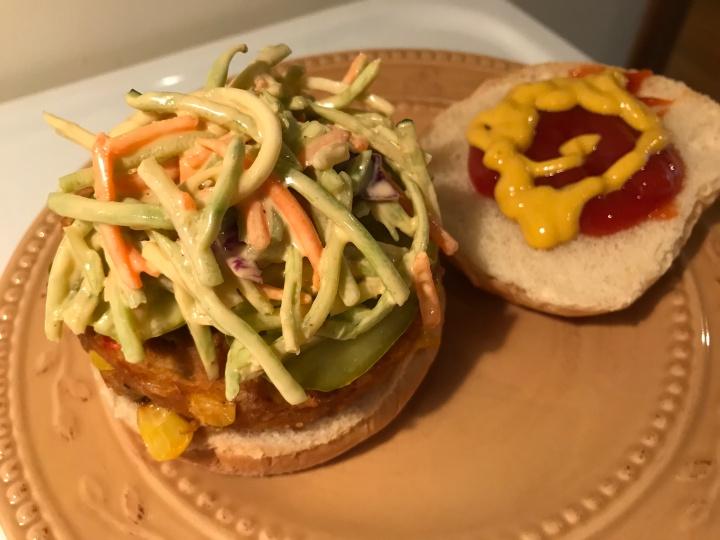 Easy Veggie Burger