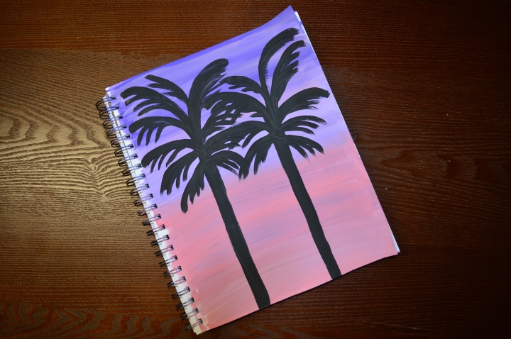 Painting with The Thankful Palette- PalmTrees