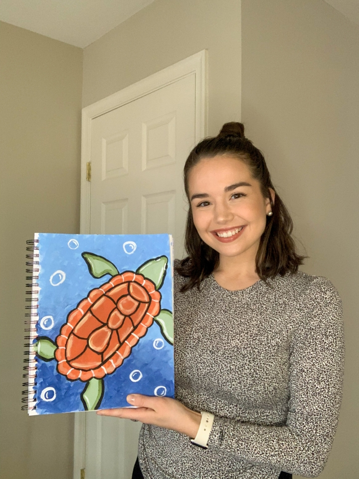 Painting With The Thankful Palette- SeaTurtles