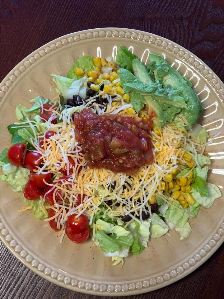Quick + Easy Veggie TacoSalad